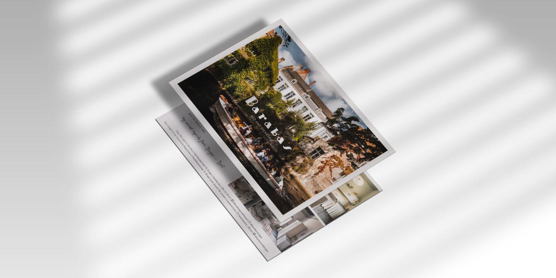 Barabas postkaart