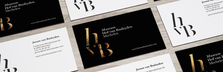 De Barbaren Hof Van Busleyden Mechelen Visitekaart mockup